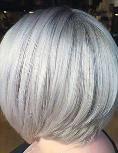 Серые волосы #32