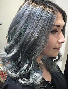 Серые волосы #33