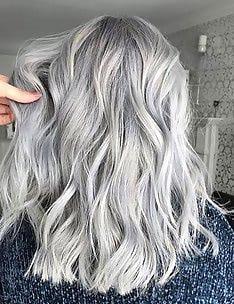 Серые волосы #34