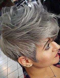 Серые волосы #35
