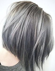 Серые волосы #36