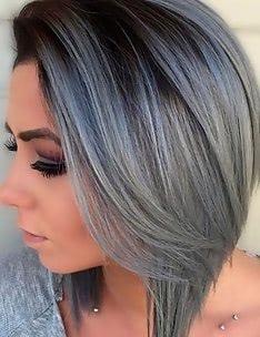 Серые волосы #37