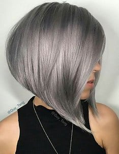 Серые волосы #02