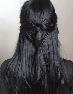 Серые волосы #38