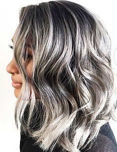 Серые волосы #43