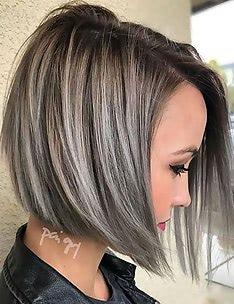 Серые волосы #44