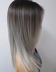 Серые волосы #45