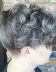 Серые волосы #03
