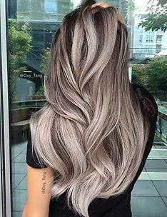 Серые волосы #47