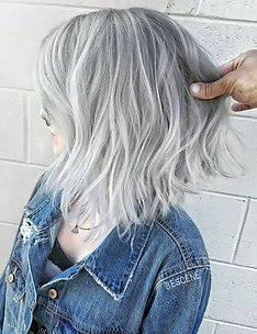 Серые волосы #48