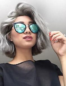 Серые волосы #49