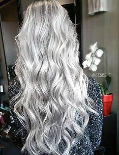 Серые волосы #50