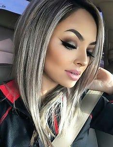 Серые волосы #52