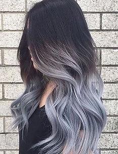 Серые волосы #54