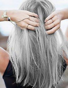 Серые волосы #55