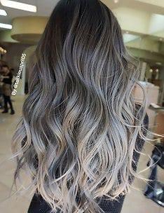 Серые волосы #04