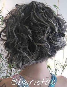 Серые волосы #56