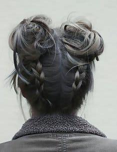 Серые волосы #58
