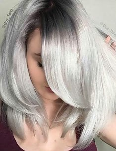Серые волосы #59