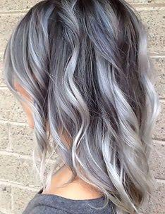 Серые волосы #60