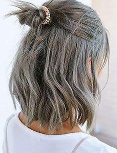 Серые волосы #62