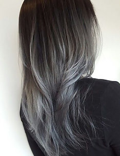 Серые волосы #63