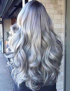 Серые волосы #64