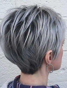 Серые волосы #70