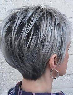 Серые волосы #72