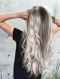 Серые волосы #73