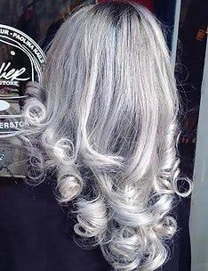 Серые волосы #07