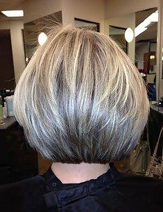 Серые волосы #08