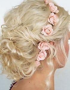 Прически на длинные тонкие волосы #09