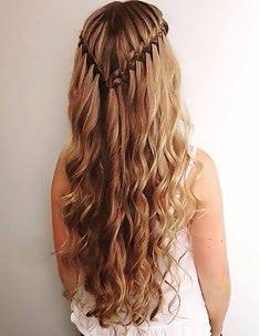 Прически на длинные тонкие волосы #12