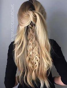 Прически на длинные тонкие волосы #18