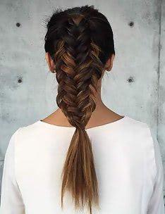 Прически на длинные тонкие волосы #19