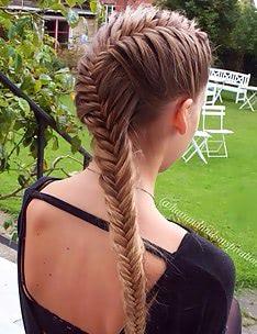 Прически на длинные тонкие волосы #20