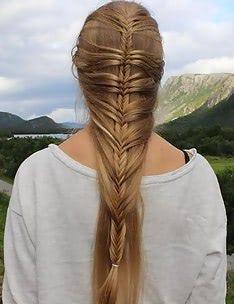 Прически на длинные тонкие волосы #23