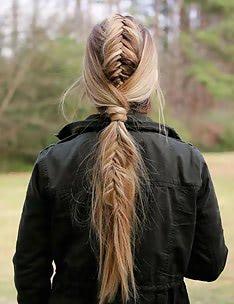 Прически на длинные тонкие волосы #24
