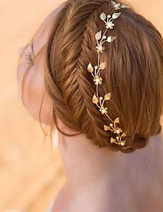 Прически на длинные тонкие волосы #25