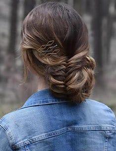 Прически на длинные тонкие волосы #30