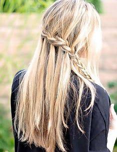 Прически на длинные тонкие волосы #32