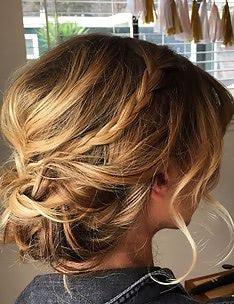 Прически на длинные тонкие волосы #03