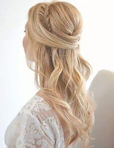 Прически на длинные тонкие волосы #54