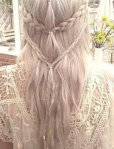 Прически на длинные тонкие волосы #58