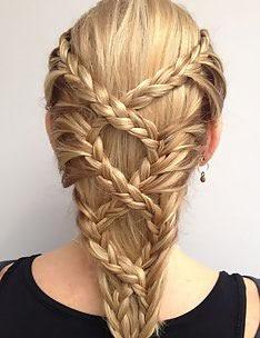 Прически на длинные тонкие волосы #59