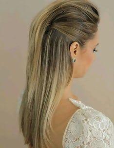 Прически на длинные тонкие волосы #61