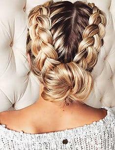 Прически на длинные тонкие волосы #68