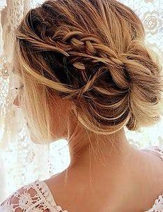 Прически на длинные тонкие волосы #78