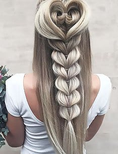 Прически на длинные тонкие волосы #07